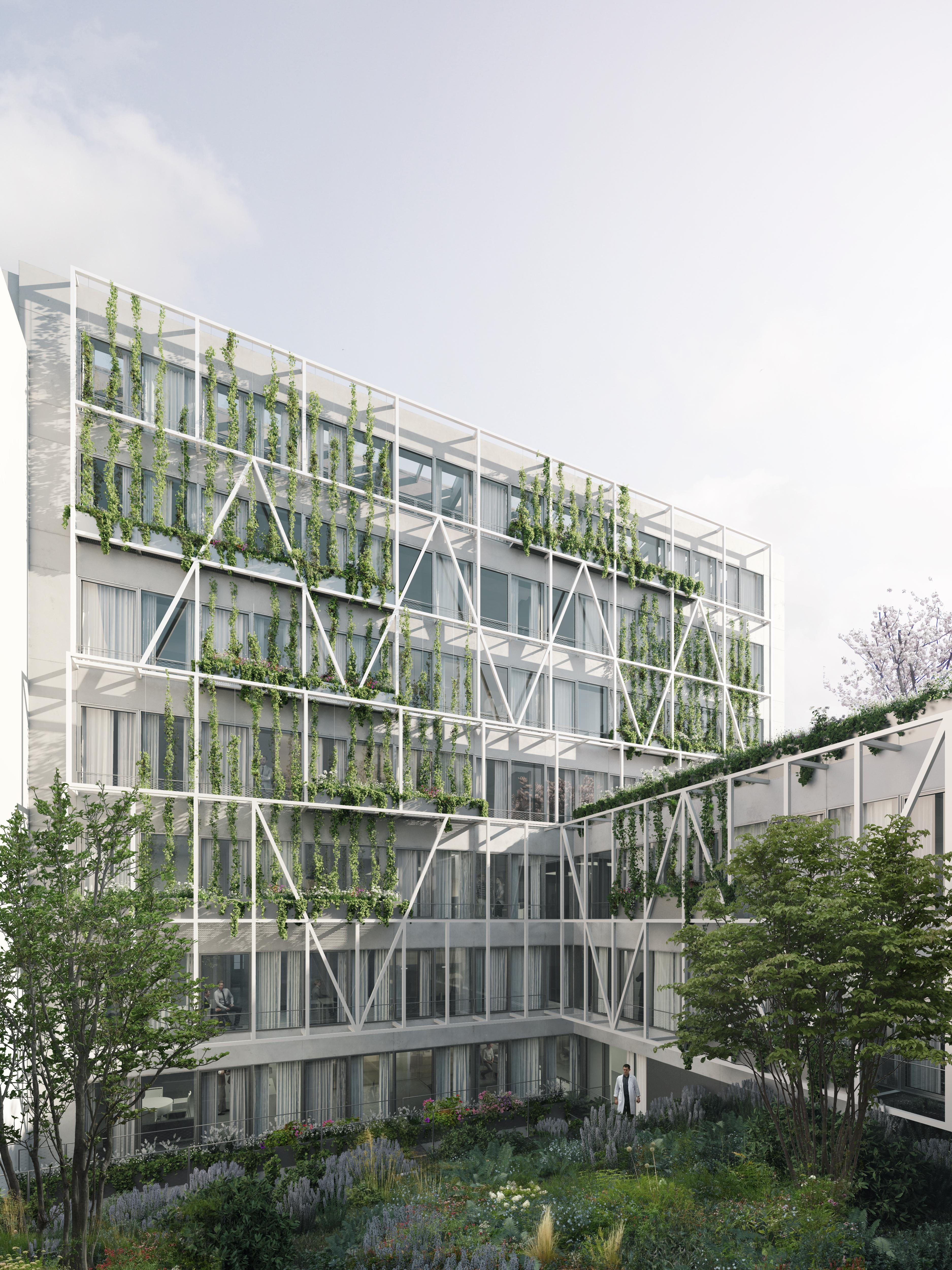 Pôle santé Bergère - Groupe Audiens